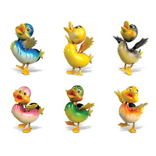 Puzzled Duck Bobble Magnets (Set of 6)