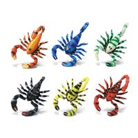 Puzzled Plastic Scorpion Bobble Magnet (Pack of 6)