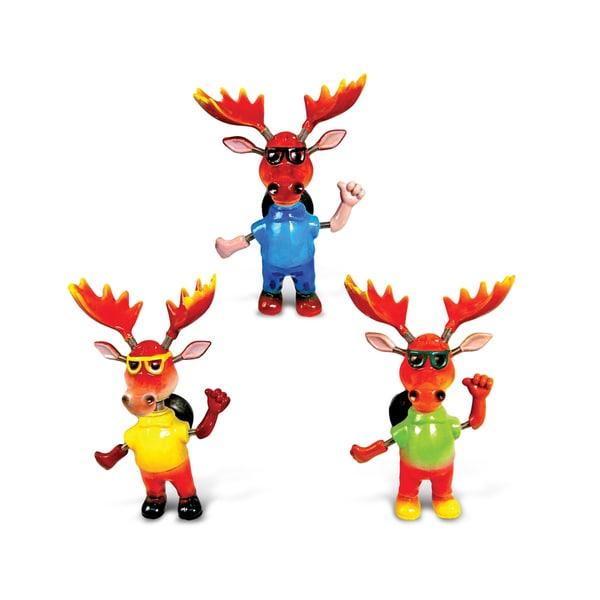 """Puzzled Inc. Cool Moose Bobble Magnet - 6""""l x 5""""w x 3""""h"""
