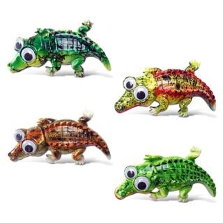 Alligator Bobble-eye Magnets (Set of 4)