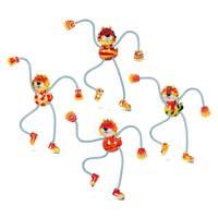 Lion Springy Magnets (Set of 4)