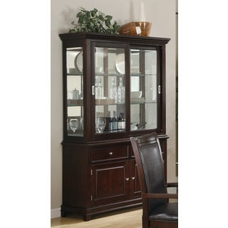 Walnut Buffet/Hutch