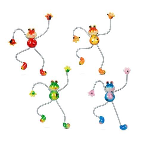 Frog Springy Magnets (Set of 4)