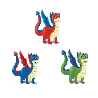 Puzzled Bobble Dragon Magnet