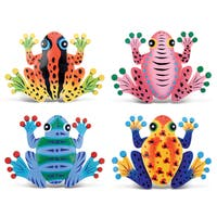 Puzzled Inc. Frog Metal Bobble Magnet