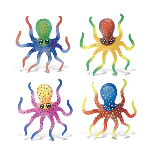 Puzzled Octopus Bobble Magnet