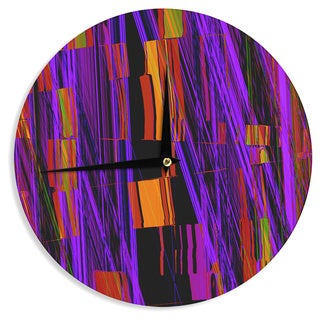 KESS InHouse Nina May 'Threads' Wall Clock