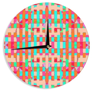 KESS InHouse Nina May 'Sorbetta' Wall Clock
