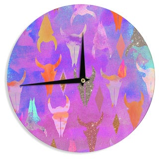 KESS InHouse Nikki Strange 'Rodeo' Wall Clock