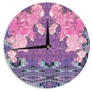 KESS InHouse Nina May 'Lepparo' Wall Clock