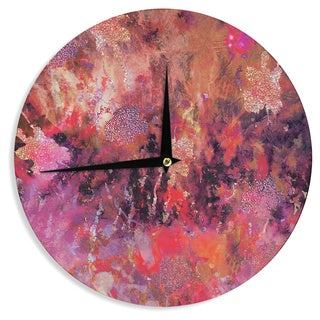 KESS InHouse Nikki Strange 'Indian City' Wall Clock
