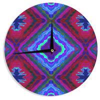 KESS InHouse Nina May 'Kilim' Wall Clock