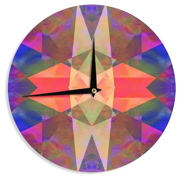 KESS InHouse Nina May 'Irridesco' Wall Clock