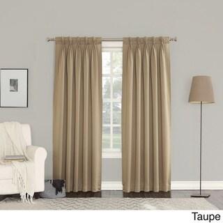 Sun Zero Galia Pinch Pleat Curtain Panel Pair