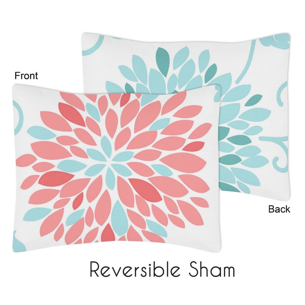 Emma Collection Standard Pillow Sham by Sweet Jojo Designs
