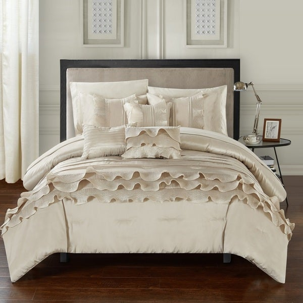 Chic Home 10-Piece Samson BIB Comforter Set