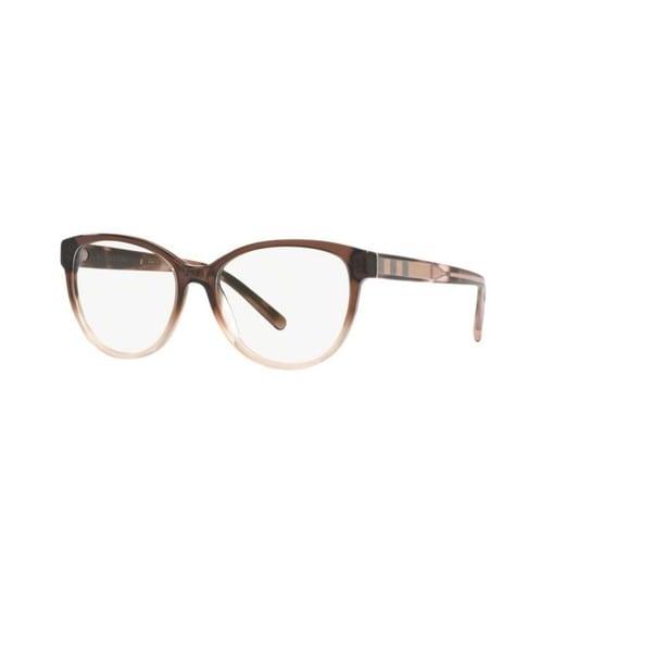 78ee063341ec Burberry BE2229 3597 Brown Gradient Pink Plastic Phantos Eyeglasses w  54mm  Lens