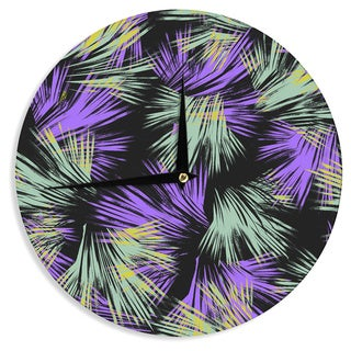 KESS InHouseGabriela Fuente 'Tropical Fun' Wall Clock