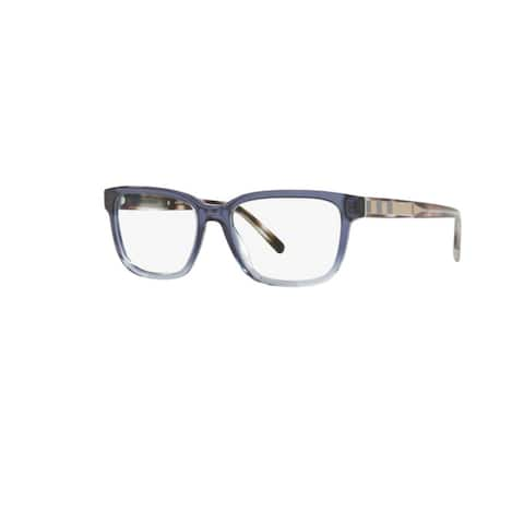 Burberry BE2230 3599 Blue Gradient Plastic Square Eyeglasses w/ 55mm Lens
