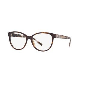 Burberry BE2229 3002 Dark Havana Plastic Phantos Eyeglasses w/ 52mm Lens