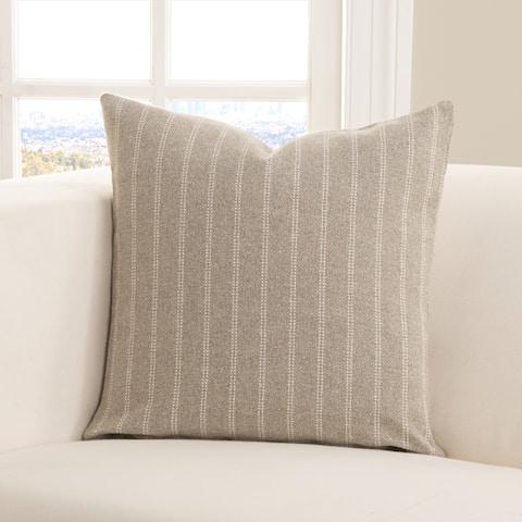 Strick & Bolton Stom Ticked Stripe Toss Pillow