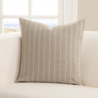 Strick & Bolton Stom Ticked Stripe Toss Pillow