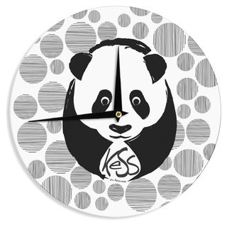 KESS InHouse KESS Original 'Panda' Wall Clock