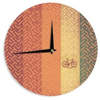 KESS InHouse KESS Original 'Lost' Wall Clock