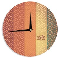 KESS InHouse KESS Original 'Lost' Wall Clock