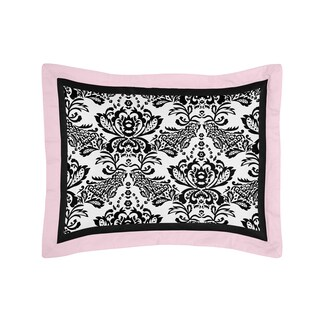 Sophia Collection Standard Pillow Sham by Sweet Jojo Designs