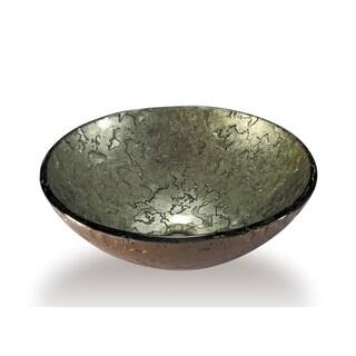 Legion Furniture Antique Gold Glass Vessel Bowl