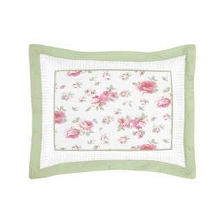 Riley's Roses Collection Standard Pillow Sham by Sweet Jojo Designs