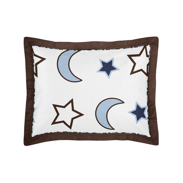Starry Night Collection Standard Pillow Sham by Sweet Jojo Designs