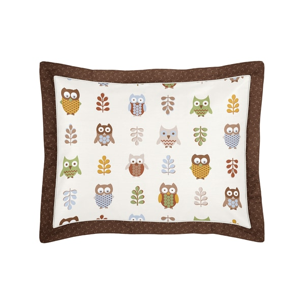 Night Owl Collection Standard Pillow Sham by Sweet Jojo Designs
