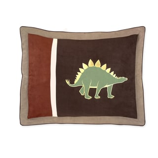 Dinosaur Land Collection Standard Pillow Sham by Sweet Jojo Designs