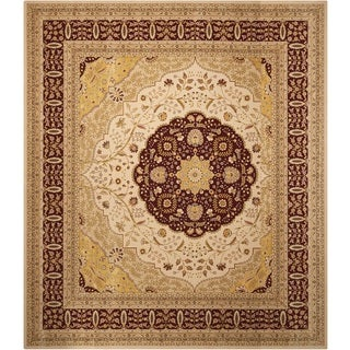 Nourison Eastern Gate Beige Area Rug (12' Square)