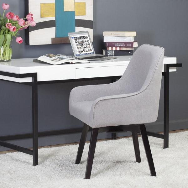Shop Carson Carrington Ervalla Swivel Chair Overstock