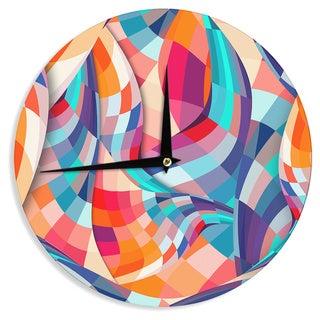 KESS InHouse Danny Ivan 'Versicolor' Wall Clock