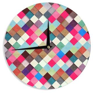 KESS InHouse Danny Ivan 'Ubrik' Wall Clock
