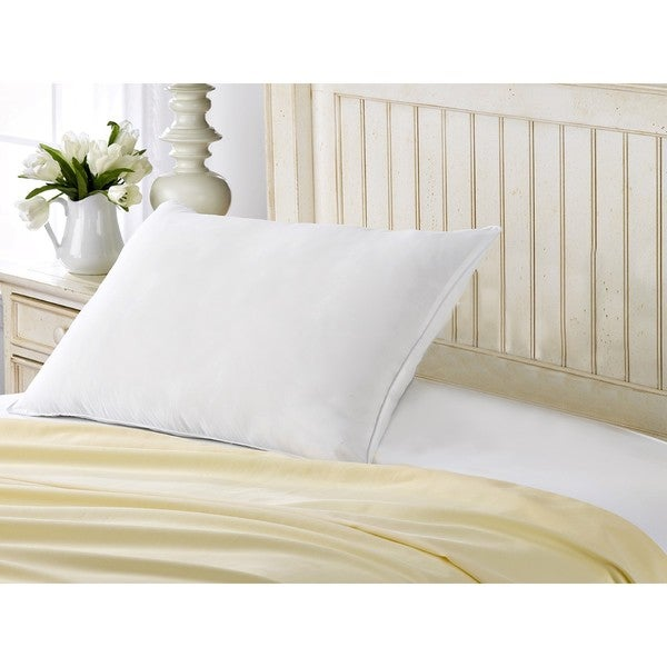Exquisite Hotel Signature Soft Pillow - Best for Stomach Sleepers - White