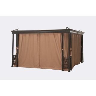 Sunjoy Universal Privacy Curtain for 12' x 12' Gazebos