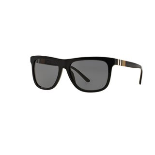Burberry Men's BE4201F 300181F Black Plastic Square Sunglasses w/ 58mm Lens