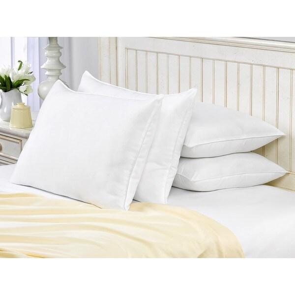 Exquisite Hotel Signature Memory Fiber Filled Pillow (Set of 4)