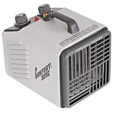 Comfort Zone CZ707 1500 Watt Personal Heater/ Fan