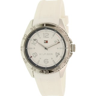 Tommy Hilfiger Women's 1781635 Lizzie White Silicone Quartz Watch
