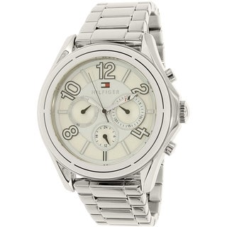 Tommy Hilfiger Men's 1781650 'Ali' Multi-Function Stainless Steel Watch - silver
