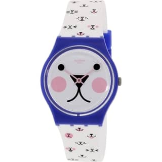 Swatch Women's Originals GN241 Multi Silicone Swiss Quartz Watch|https://ak1.ostkcdn.com/images/products/12442166/P19257218.jpg?impolicy=medium