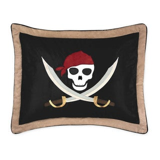 Pirate Treasure Cove Collection Standard Pillow Sham by Sweet Jojo Designs