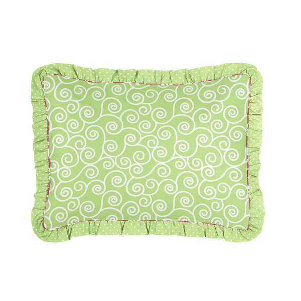 Olivia Collection Standard Pillow Sham by Sweet Jojo Designs