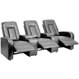 Leather Theater Seating